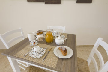 Una colazione con l'aria del mare da La Rosa dei Venti, il bed and breakfast Marsala Stagnone